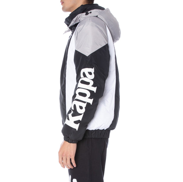 Authentic 90 Berya Padded Jacket - Black Grey Flint Wht