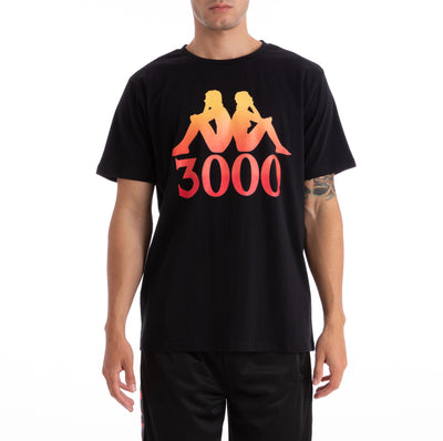 Kappa x Gumball 3000 Authentic Grade Black T-Shirt