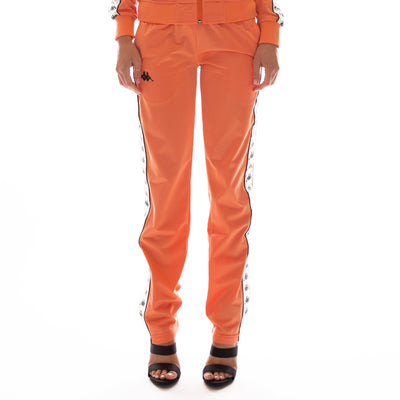 222 Banda Wastoria Trackpants - Melon White Egg Black