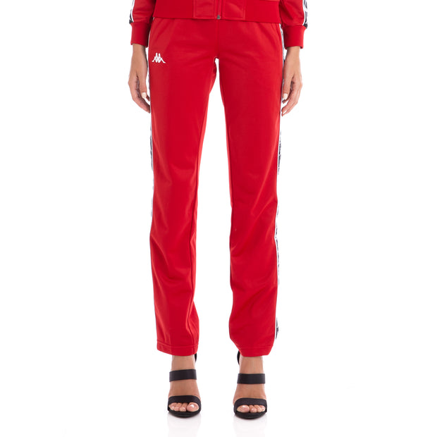222 Banda Wastoria Trackpants Red Black
