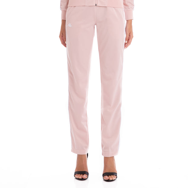 222 Banda Wastoria Trackpants - Pink White