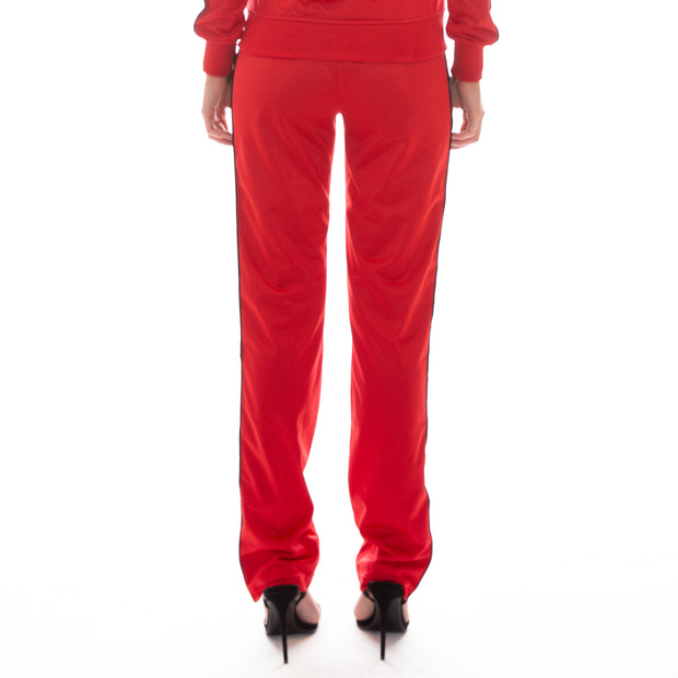 222 Banda Wastoria Trackpants - Red Black