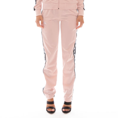 222 Banda Wastoria Trackpants - Pink Black