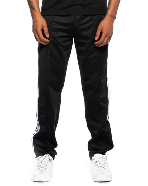222 Banda Astoria Slim Black White Track Pants