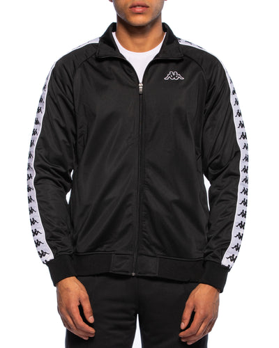 222 Banda Anniston Slim Black White Track Jacket