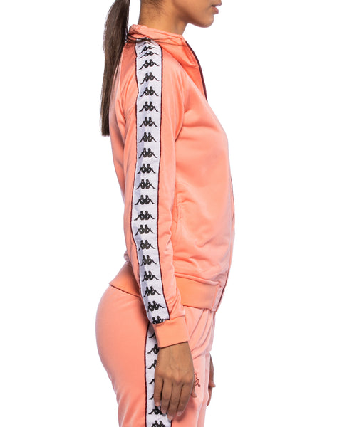 Kappa Womens 222 Banda Wanniston Pink Slim Jacket - Side