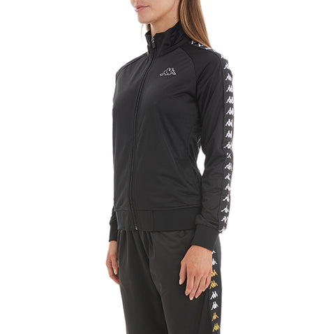 Kappa Womens 222 Banda Wanniston Black Black Slim Jacket - Side