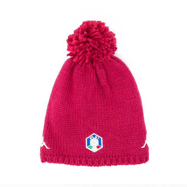 6Cento Flock 3 Fisi Hat - Red Cerise
