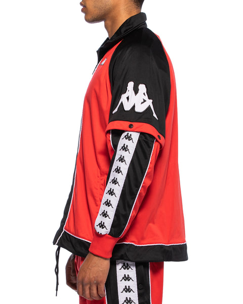 222 Banda Big Bay Jacket Red Black White