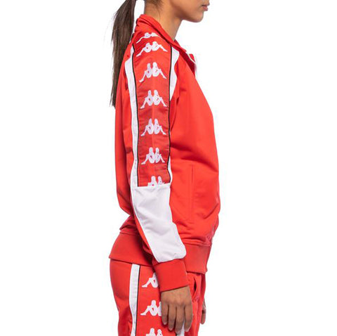 Womens 222 Banda 10 Anay Red Track Jacket - Side