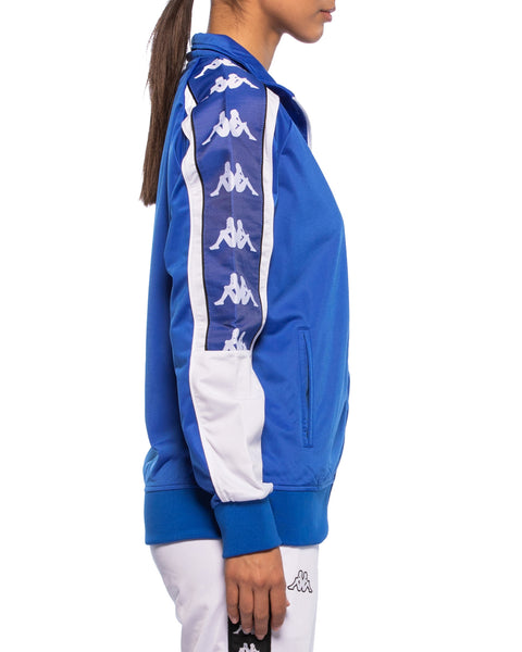 Womens 222 Banda 10 Anay Blue Track Jacket - Side