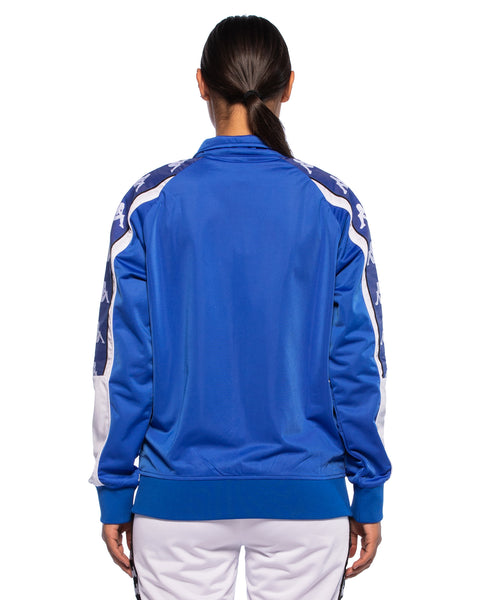 Womens 222 Banda 10 Anay Blue Track Jacket - Back