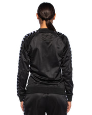 Kappa Womens Authentic Awente Black Jacket - Back