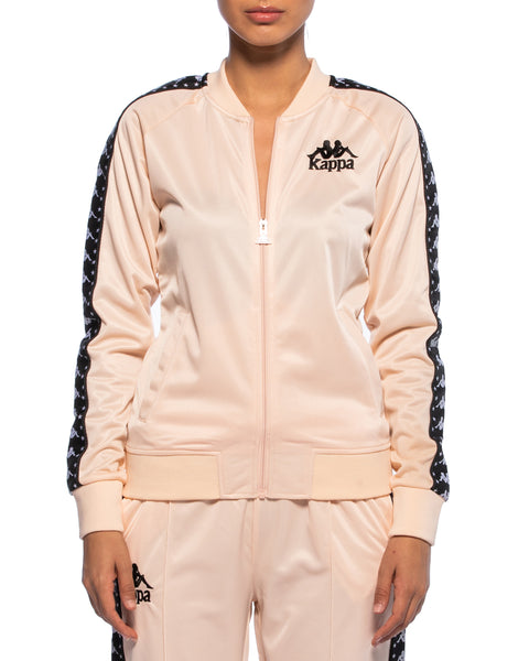 Kappa Womens Authentic Awente Peach Track Jacket - Front