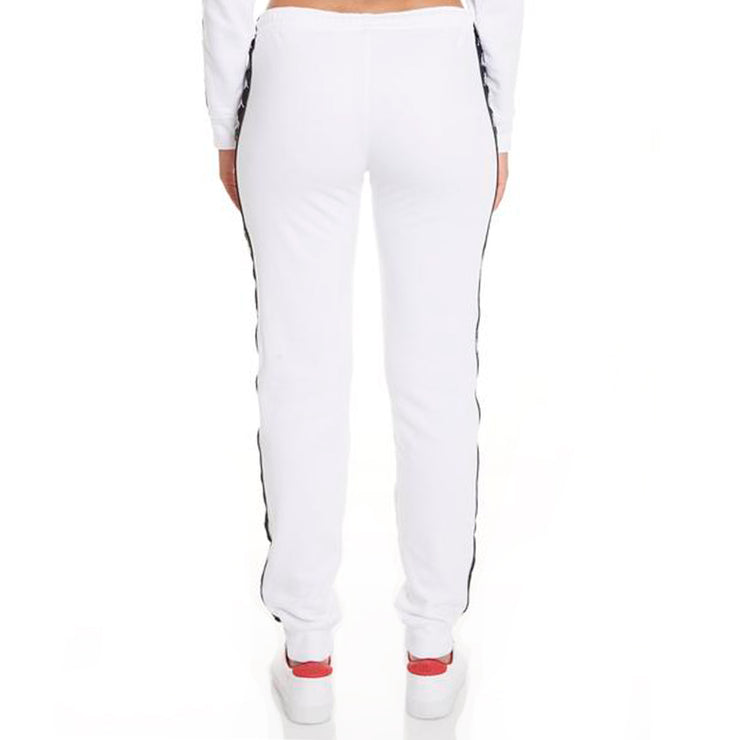 222 Banda Aviol Slim White Black Pants