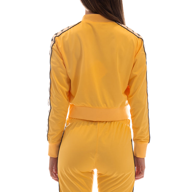 222 Banda Asber Track Jacket - Yellow Banana White Egg Black