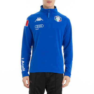 6Cento 687B Fisi Fleece Jacket - Blue