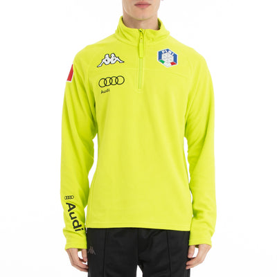 6Cento 687B Fisi Fleece Jacket - Green Lime
