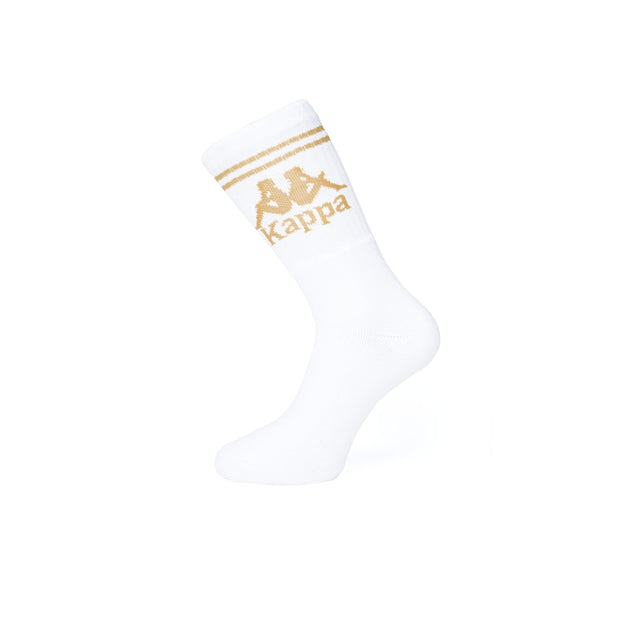 Authentic Aster 1 Pack Socks - White Gold