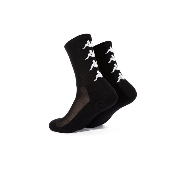 Authentic Amal 1 Pack Socks - Black White