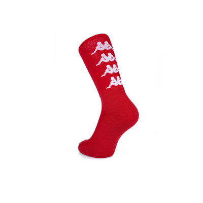 Authentic Amal 1 Pack Socks - Red DK White