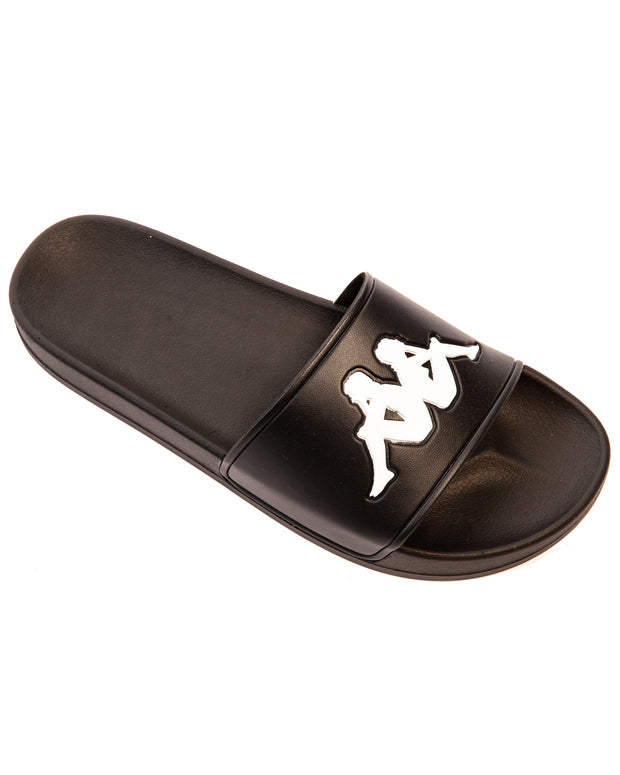 Authentic Adam 2 Slides - Black White