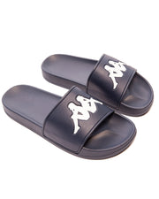 Authentic Adam 2 Blue Marine White Slides