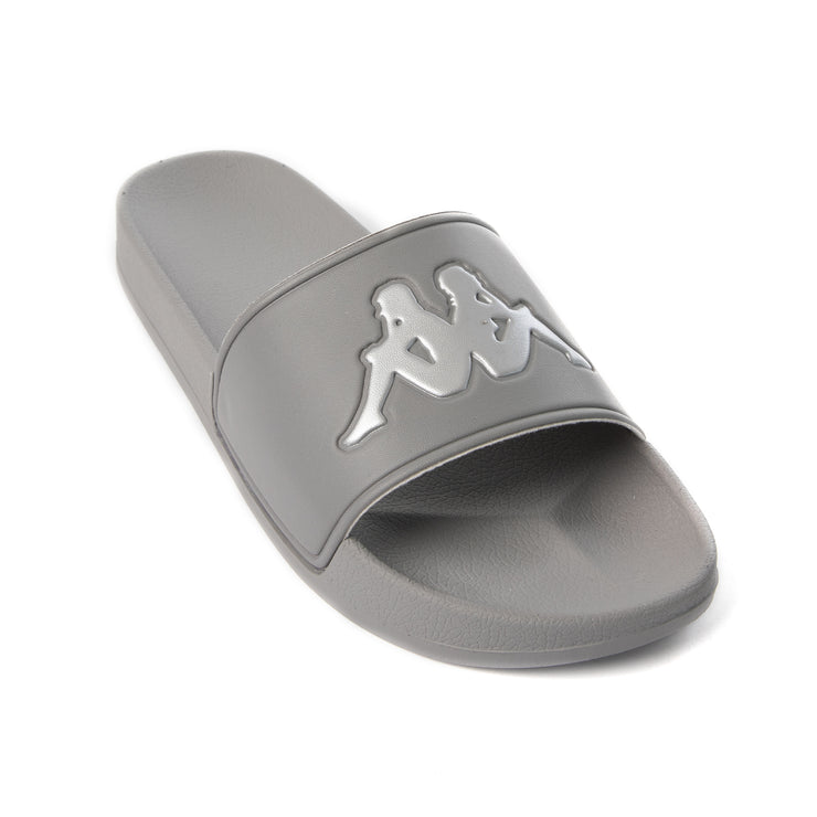 Authentic Adam 2 Slides - Grey Silver