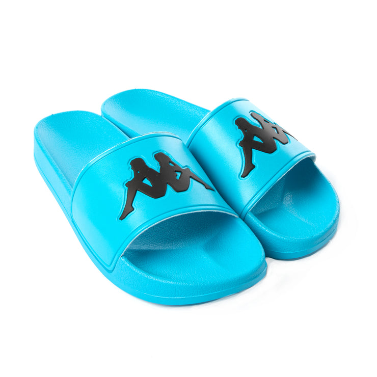 Authentic Adam 2 Slides - Neon Blue Black
