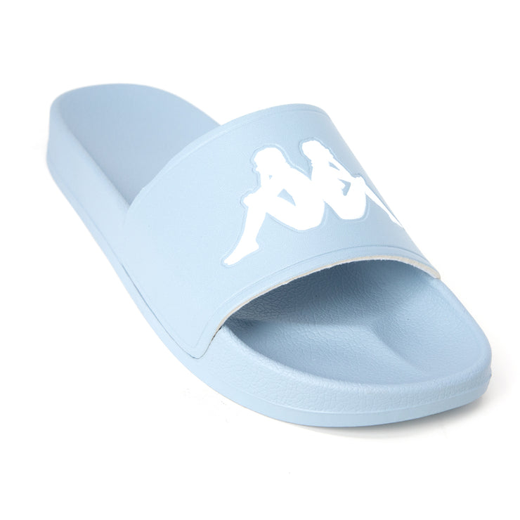 Authentic Adam 2 Slides - Celestial Blue White