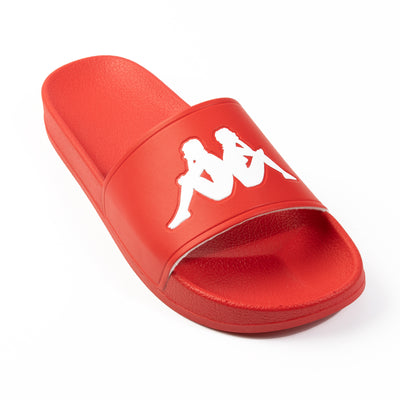 Authentic Adam 2 Slides - Red White