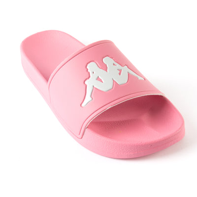 Authentic Adam 2 Slides - Pink Grey