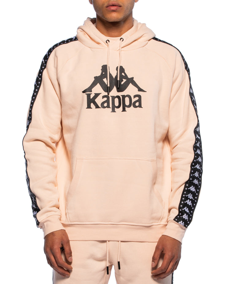 Kappa Authentic Hurta Peach Hoodie - Front
