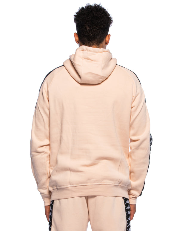 Kappa Authentic Hurta Peach Hoodie - Back