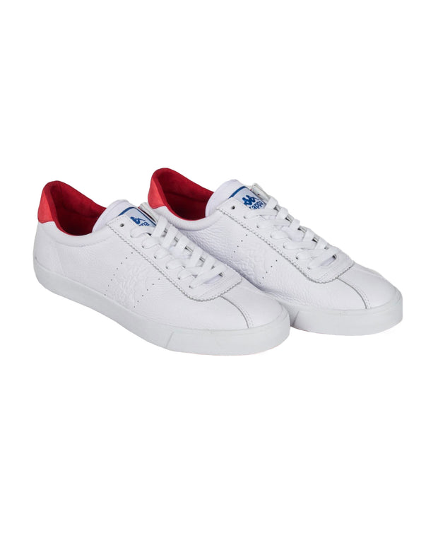 222 Banda Club 1 Sneakers - White Red