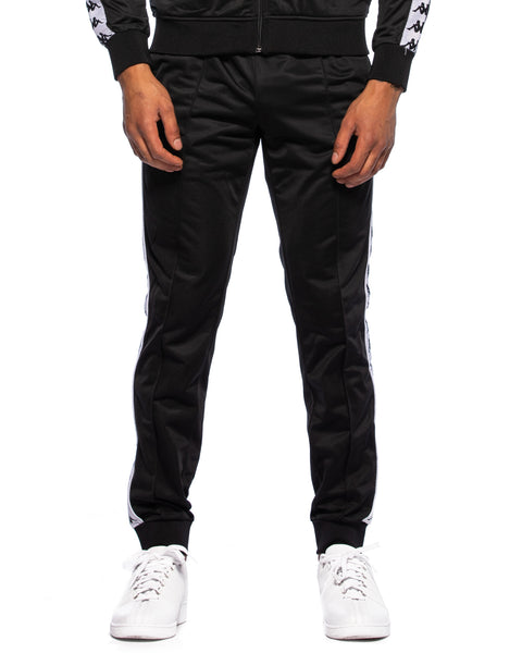 222 Banda Rastoria Slim Black White Pants