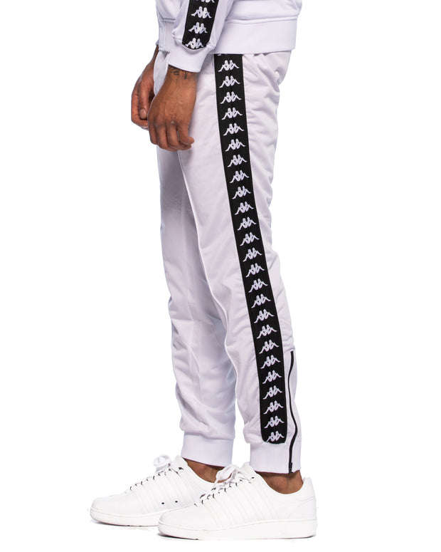 4484bc54 Kappa Mens 222 Banda Astoria Slim White Black Track Pants – Kappa USA