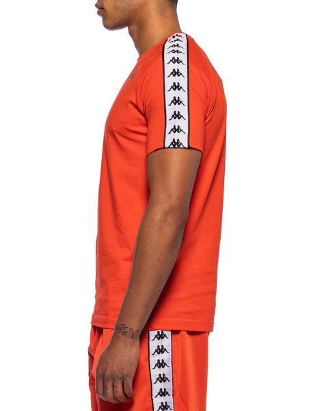 222 Banda Coen Slim Red Orange T-Shirt
