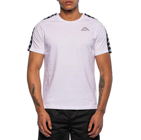 222 Banda Coen Slim White T-Shirt