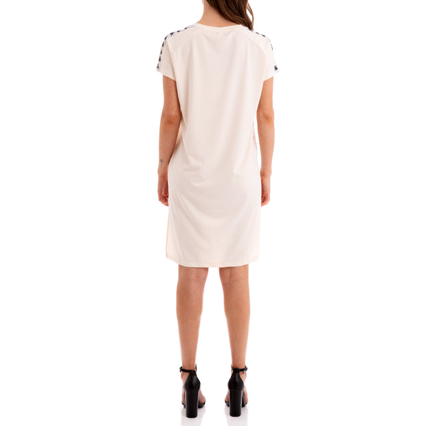 Kappa 222 Banda Aurion Beige Greysilver Black Dress