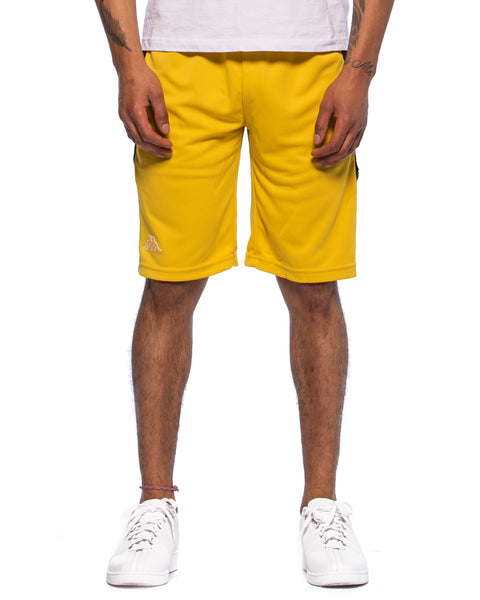 222 Banda Arawa Yellow Mustard Black Shorts
