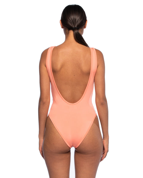 Kappa Womens 222 Banda Auber Pink Body Suit - Back