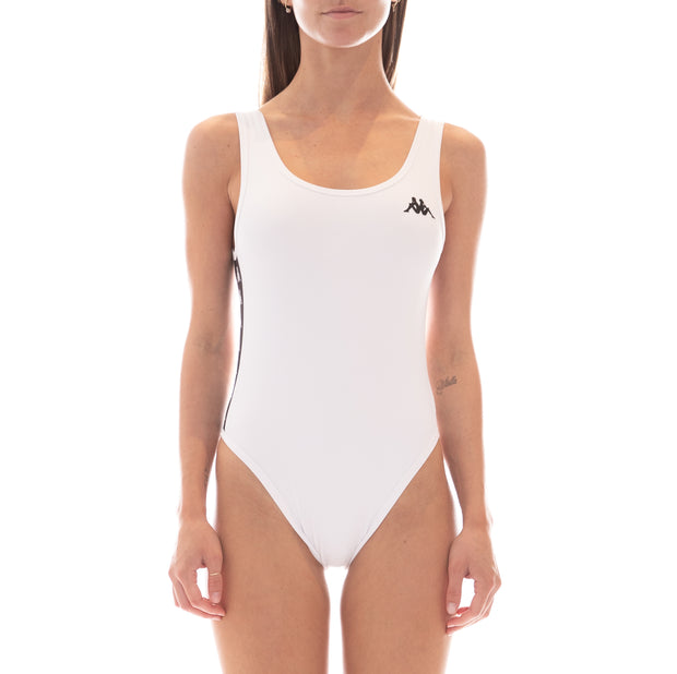 222 Banda Auber Bodysuit - White Black