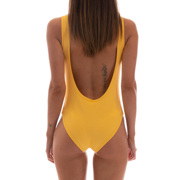 222 Banda Auber Bodysuit - Yellow Banana White Egg Black