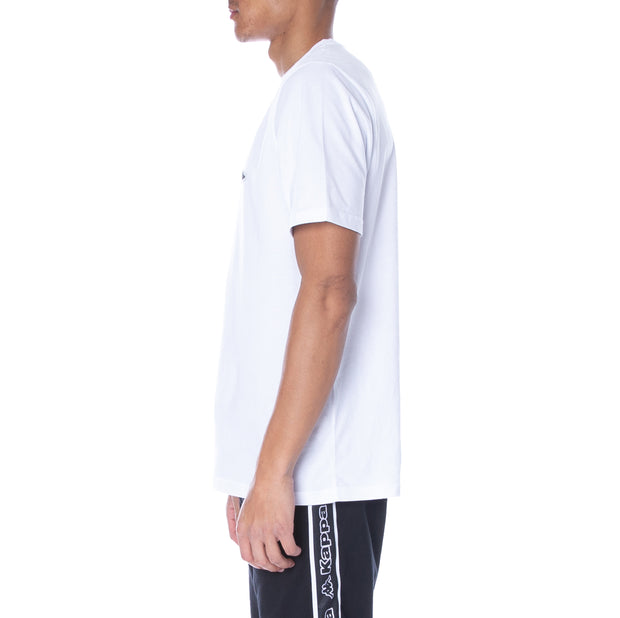 Logo Zobi T-Shirt - White Black Grey