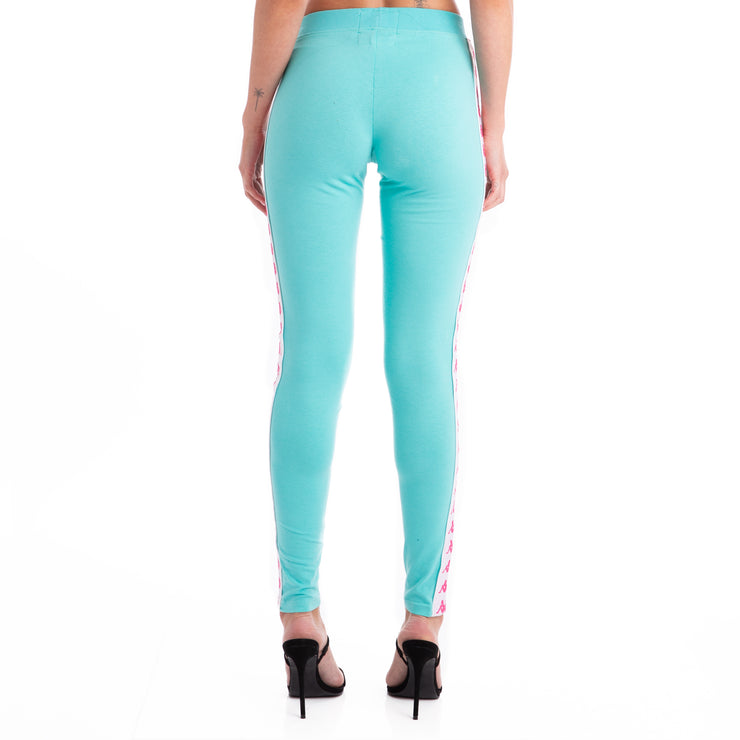 222 Banda Anen Leggings - Green Lt White