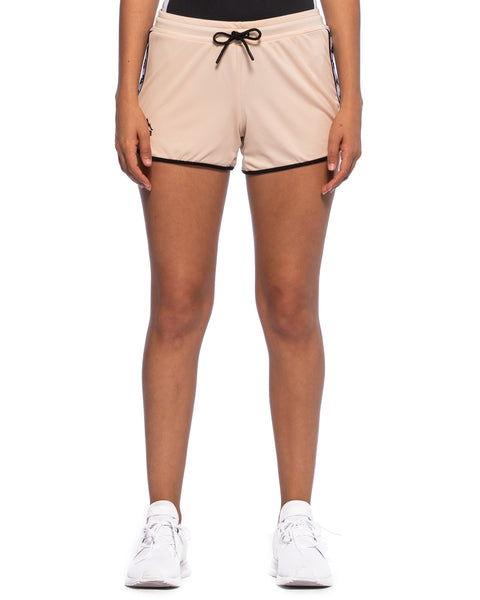 Kappa Authentic Anguy Pink Peach Shorts - Front