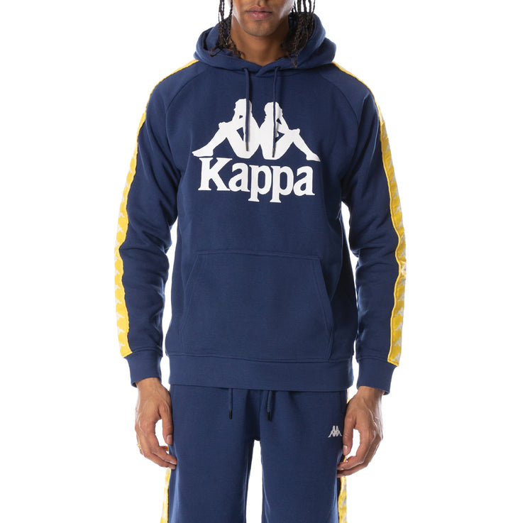 222 Banda Hurtado Hoodie - Blue Md Yellow