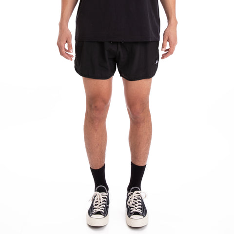 Kappa 222 Banda Agius Black Grey Silver White Swim Shorts