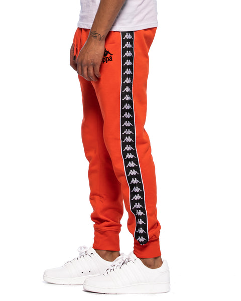 Kappa Authentic Lucio Red Orange Sweatpant